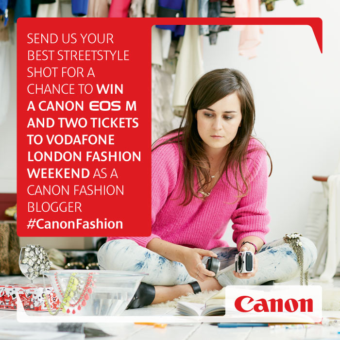 CANON BEST STREET STYLE COMPETITION