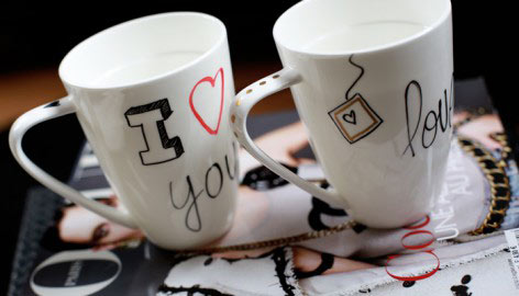 CUSTOMIZED MUGS DIY