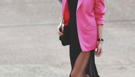 3 WAYS TO WEAR [  BRIGHT PINK  ]
