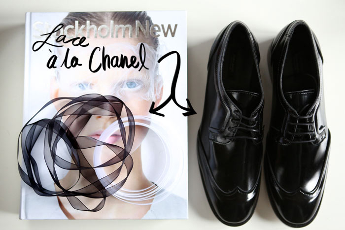 DIY : CHANEL INSPIRED LACES