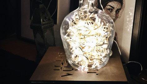 FLOOR LAMP [ D.I.Y ]