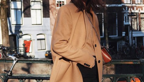 MIXING AND MATCHING A CAMEL BLAZER